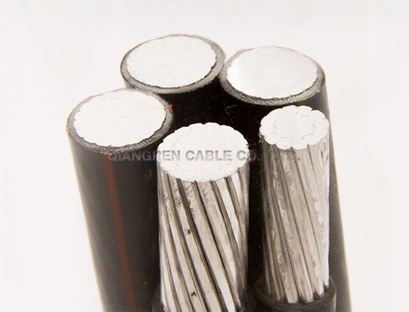 Interlocking armored alloy cable