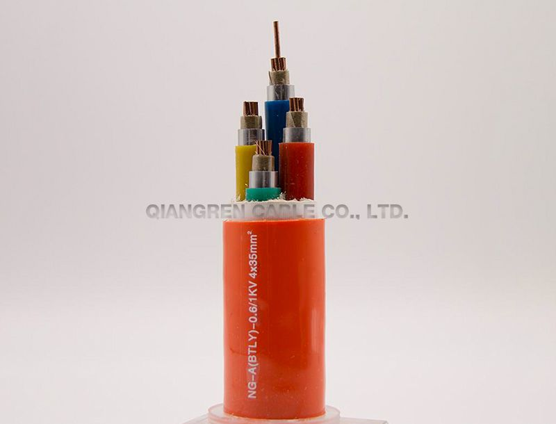 Mineral flexible insulated fire resistant cable