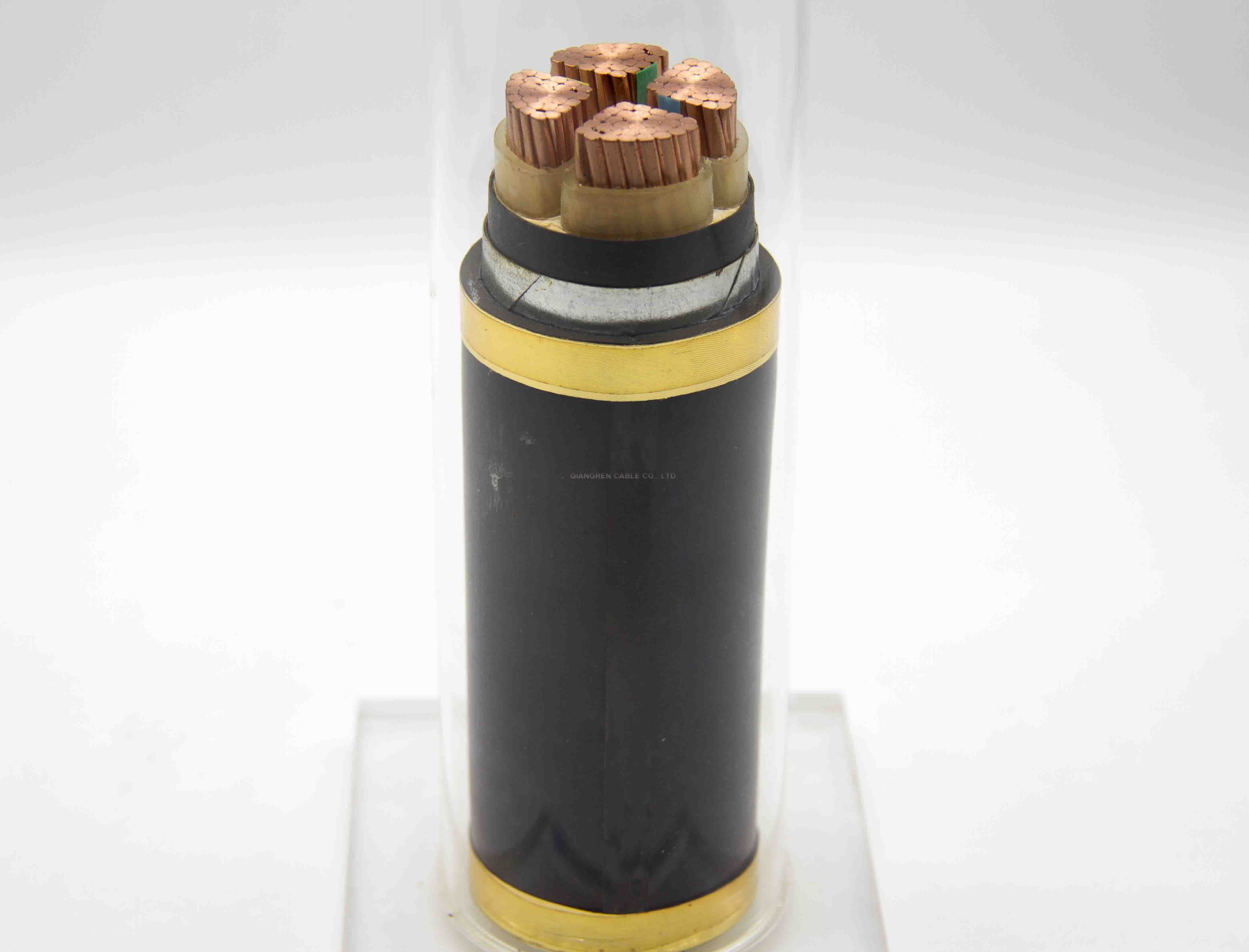 XLPE insulated low voltage 0.6/1KV cable