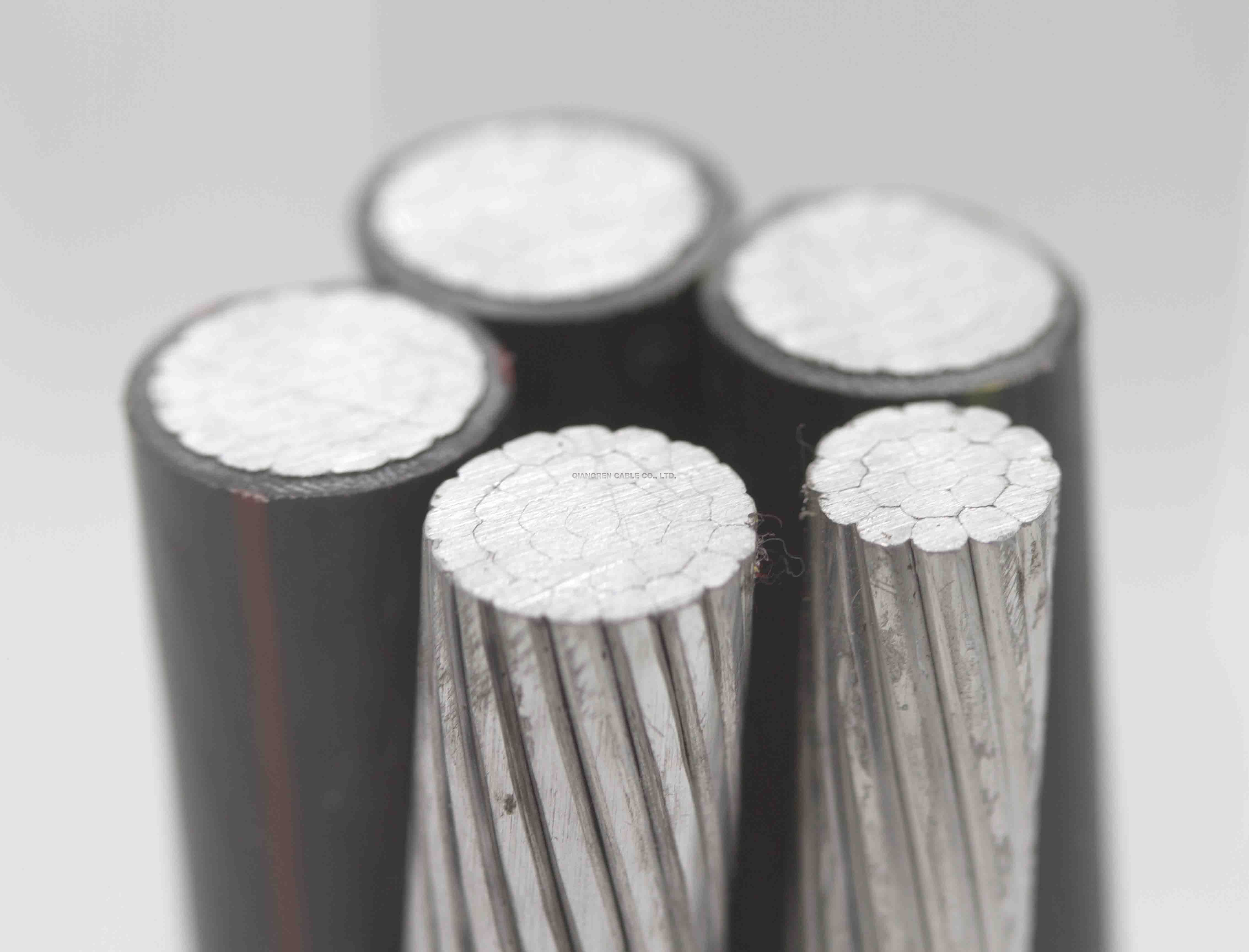 XLPE insulation steel tape armored alloy cable