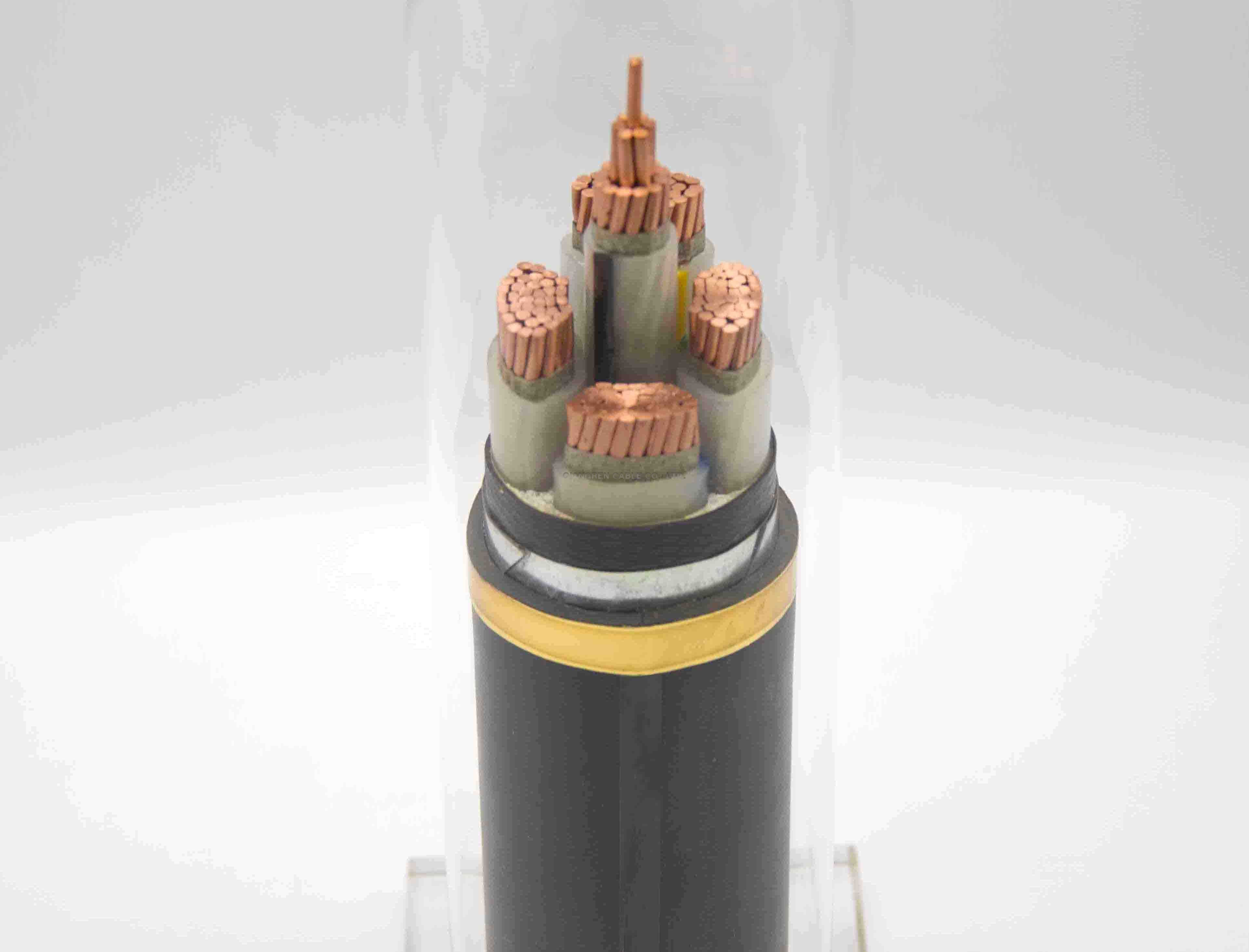 Fire resistance steel tape armoured XLPE insulation power cable
